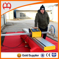 Portable CNC Machine Tools Metal Cutting Types with THC