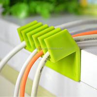 plastic multipurpose PP colorful wire rope clip locking cable clip