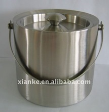 High Quality Stainless Steel champagne bucket metal alcohol bottle holder