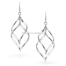 Silver led earrings ladies earrings designs pictures