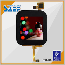 small 1.54 tft lcd module capacitive touch panel screen display with very high brightness outdoor usage