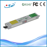 12v dc rectifier 20w industrial power supply, IP67 waterproof constant voltage led power drivers