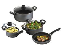 Aluminium cookware fry pan ,cook pot,sauce pan