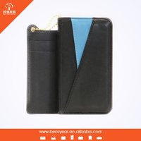 "4.7"" PU and PC shell Latest style cheap custom made mobile phone cases with card slot page"
