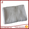Good quality 100% cotton material diaposable white hotel towels