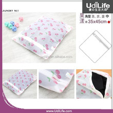 35x45cm Cherry Pattern Square Washing Laundry Net Bag
