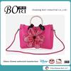 flower lacing eco jelly silicone ladies handbag tote bag handbag