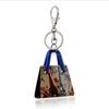 popular fashion key chain,bag keychain jewelry wholesale