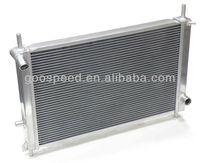 Aluminum racing auto radiator for Ford Falcon 65