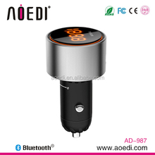 2015 Hot selling bluetooth car kit FM transmitter