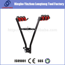 New design four bike carrier bicycle rack hitch