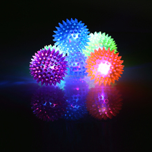 LED lighted toys cool flashing in the dark dog ball