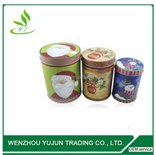 Metal Cylinder Tin Box, Christmast Gift Tin Box, Candy Tin Box