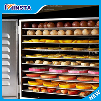 2015 New Food Dehydrator Fruit Vegetable Herb Meat Drying Machine Snacks Dryer kitchen appliance Fruit dehydrator with 10 trays