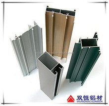 Profile customized extruded aluminum railings for outdoor stairs