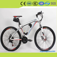 2016 new electric mountain bicycle high speed motor man bike with USB solar charger free provide