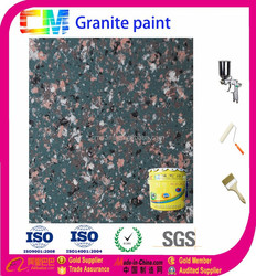 waterborne exterior & interior granite effect spray paintin building coating