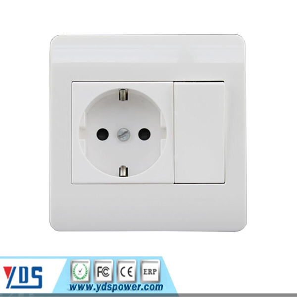 South Africa India Brazil Type Usb Wall Socket With Usb
