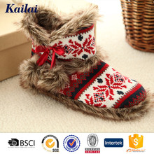 high quality woman fashion winter leather warm boots