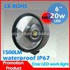 High lumens cree 20w led car lighting ,auto tuning 12v led light,offroad led driving light