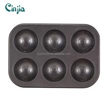 football shape bakeware/muffin pan/cake/chocatlate pan