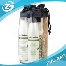 Eco-Friendly Clear Plastic Gift Bag PVC Drawstring Bag