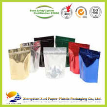 different types of zipper pouch for liquid packaging