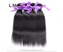 Cheapest price wholesale unprocessed high grade cheap 100% brazilian virgin hiar weaving/weft