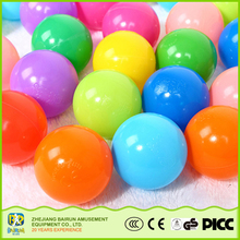 Bairun China Goods Wholesale Colorful Soft Pit Plastic Ball Ocean Water Ball For Ball Pools