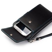 Boshiho Genuine Travel Wallets Leather Men