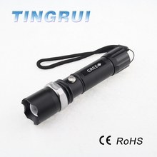 Manufacturer High Power Zoom Rechargeable Torch Light