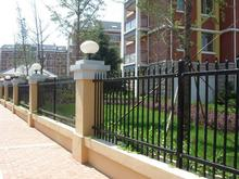 Brand new iron fence with solar light with low price