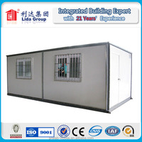 For cold area excellent insulation effect container house