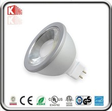 Fast sales good ETL CETL Listed COB 5W 500LM equal to 50w halogen led mr16 spotlight