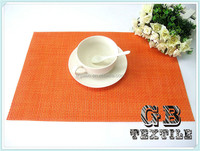 wholesale woven recycle plastic mat