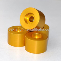 cnc anodised aluminum car seat spacer for different cars