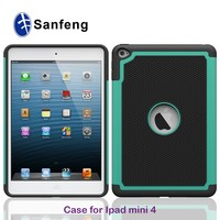2015 cheap price rugged phone case for ipad mini 4/shockproof case for ipad mini 4