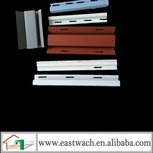 Decorative Exterior Wall Panels PVC Vinyl Clapboard Siding