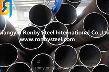Corrosion Resistance Rubber Lined Pipe to heat vulcanization API 5LX52 steel pipe