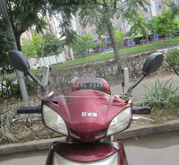 Thickening motorcycle/electric bike/three wheel motorcycle universal front windshield, windscreen