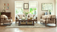 Design hot sell bamboo wooden sofas set