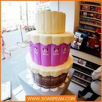 Fashionable Store Decoration Fake Cake