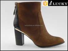Latest women's guinure leather boots italian leather boots cheap winter boots