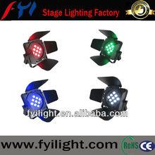 high quality 9*10w rgb led par can led flat par light 9