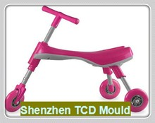 TCD Foldable Indoor/Outdoor Toddlers Glide Tricycle