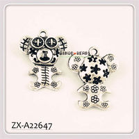 Cute Alloy Pet Dog Fashion Jewelry Pendant