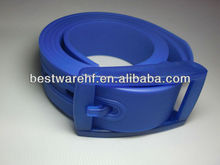 2013 fashion colorful silicone belt/sports silicone belt/silicone rubber belt