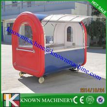 Multifunctional mobile food cart with frozen yogurt machine