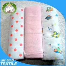 100% organic cotton printed gauze reusable baby diaper muslin swaddle blanket wrap