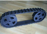 agriculture rubber track all terain vehicles small snowmobile rubber tracks